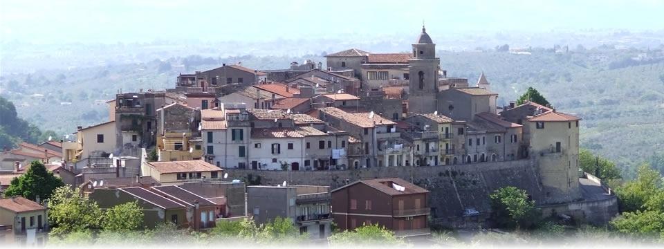 Il panorama del borgo di Montelibretti