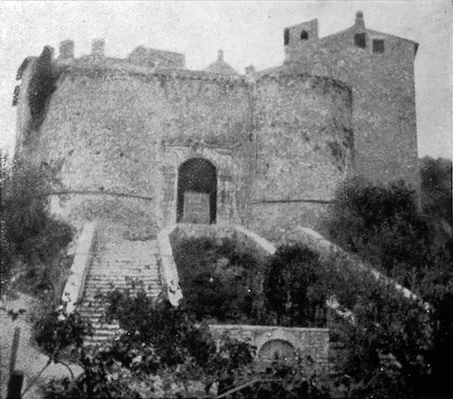 Il castello Orsini di Montenero Sabino