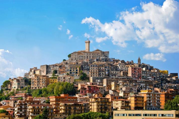 Il panorama del borgo di Monterotondo
