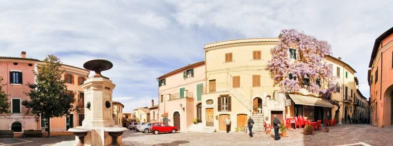 Uno scorcio del borgo di Montopoli di Sabina