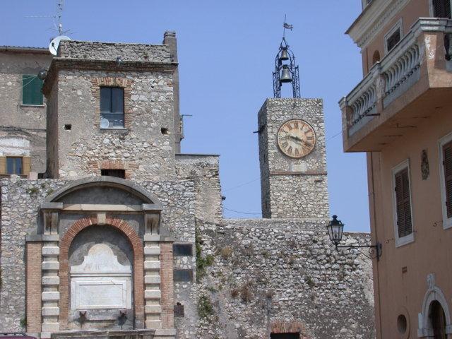 Uno scorcio del borgo di Montorio Romano