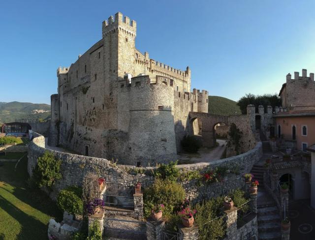 Il castello Orsini di Nerola