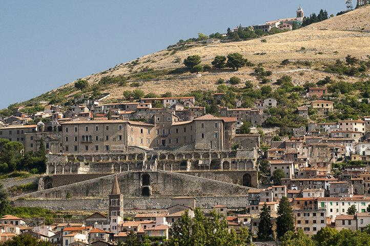 Il panorama di Palestrina