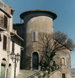 Uno scorcio del borgo di Pisoniano