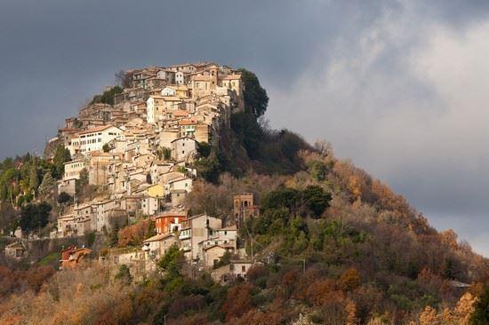 Il panorama di Rocca Canterano