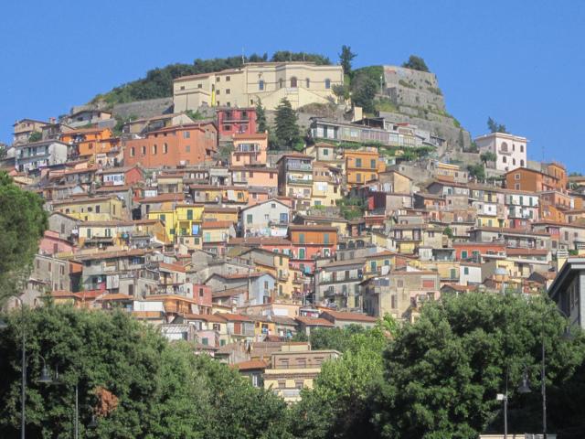 Il panorama di Rocca di Papa