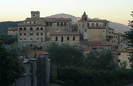 Il panorama di Roccagiovine