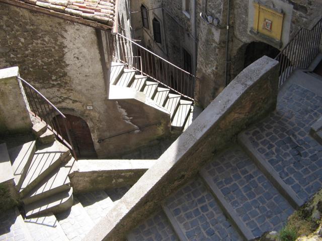 Uno scorcio del borgo di San Vito Romano