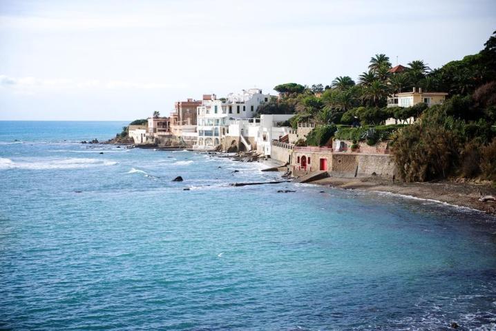 La spiaggia di Santa Mariella