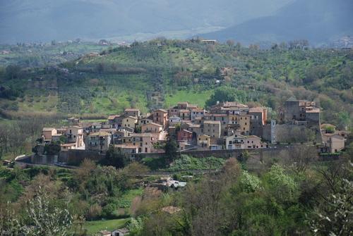 Il panorama del borgo di Selci
