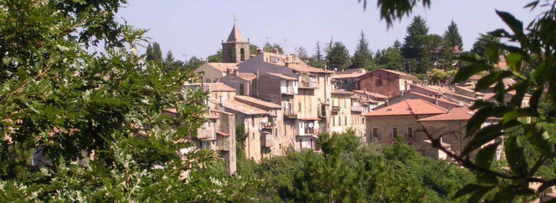 Il panorama del borgo di Torricella in Sabina