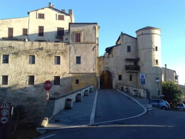 Uno scorcio del borgo di Torrita Tiberina