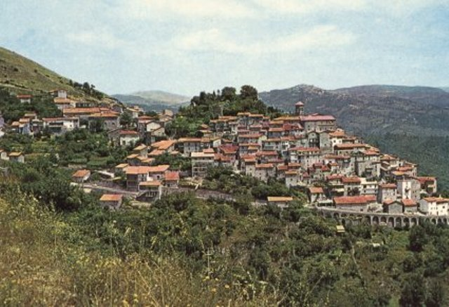 Il panorama di Vivaro Romano