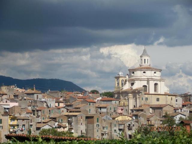 Il panorama del borgo di Zagarolo