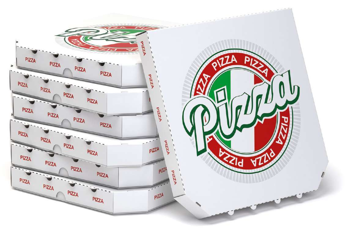 Cartoni per la pizza