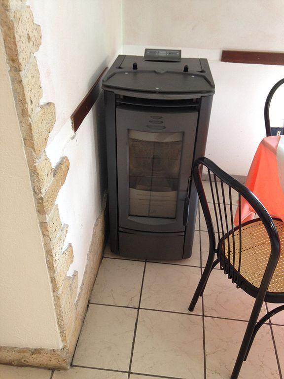 L'installazione di una stufa a pellet usata