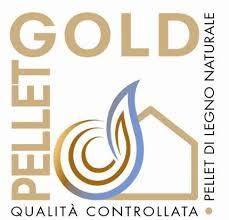 Il logo del pellet gold