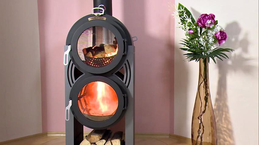 La stufa pirolitica a fiamma inversa