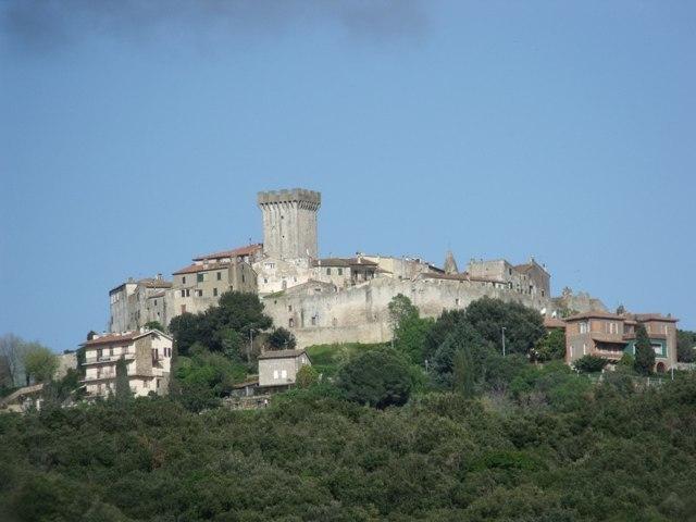 Il panorama del borgo di Capalbio