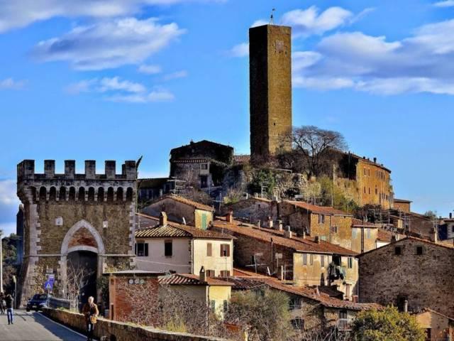 Il borgo di Magliano in Toscana