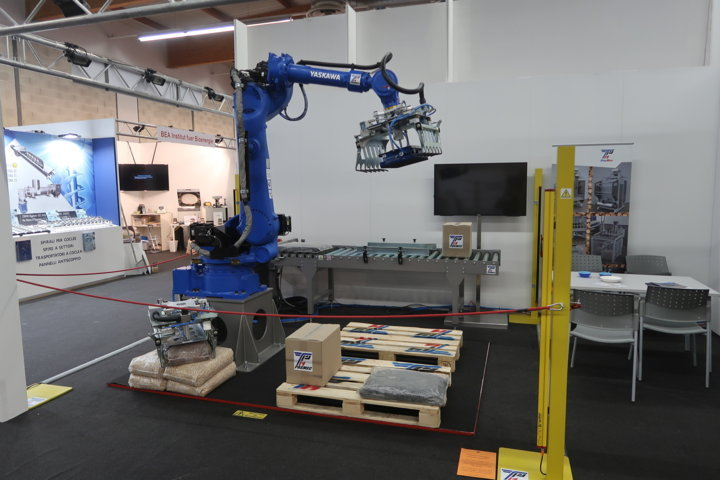 Un oasi robotizzata per l'impacchettamento del pellet