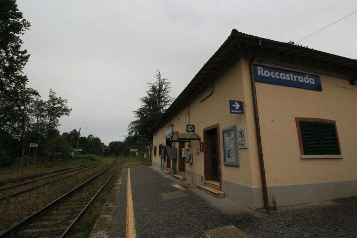 La stazione ferroviaria di Roccastrada