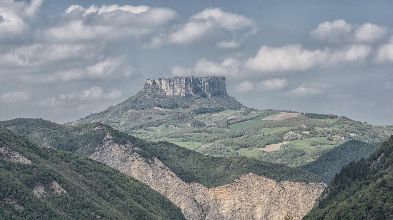 Un'immagine del paesaggio di Castelnovo ne' Monti
