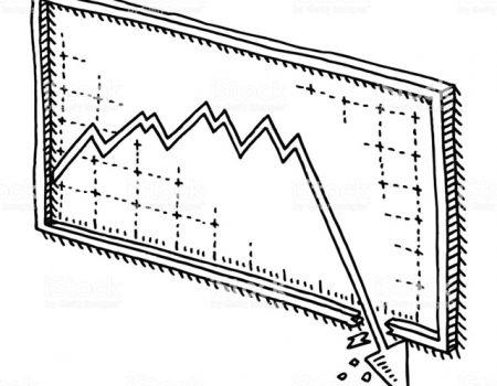 Diagramma del deprezzamento degli immobili
