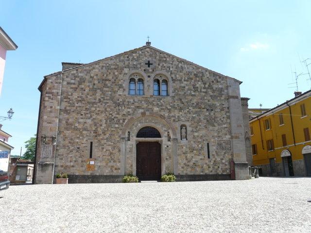 La chiesa dell'assunzione della Maria Vergine di Fornovo di Taro