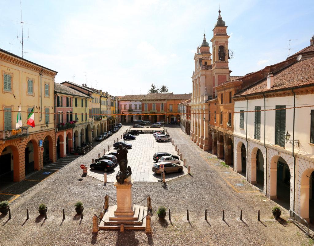 La piazza di Guastalla