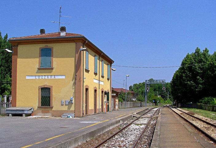 La stazione ferroviaria di Luzzara