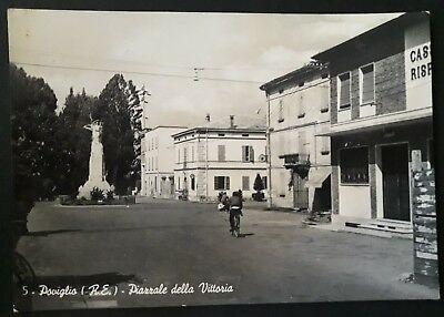 Una cartolina storica di Poviglio