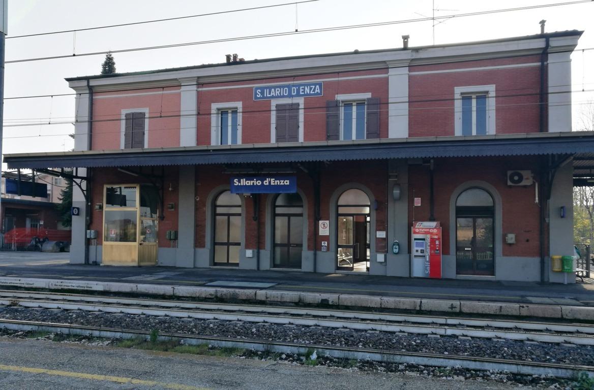 La stazione di Sant'Ilario D'Enza