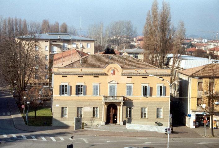 Uno scorcio del borgo di Sorbolo