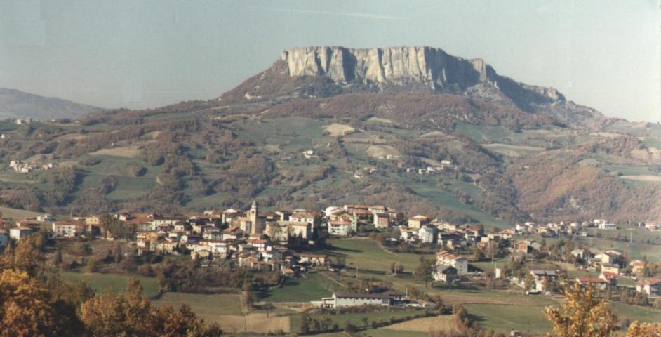 Il panorama del borgo di Villa Minozzo