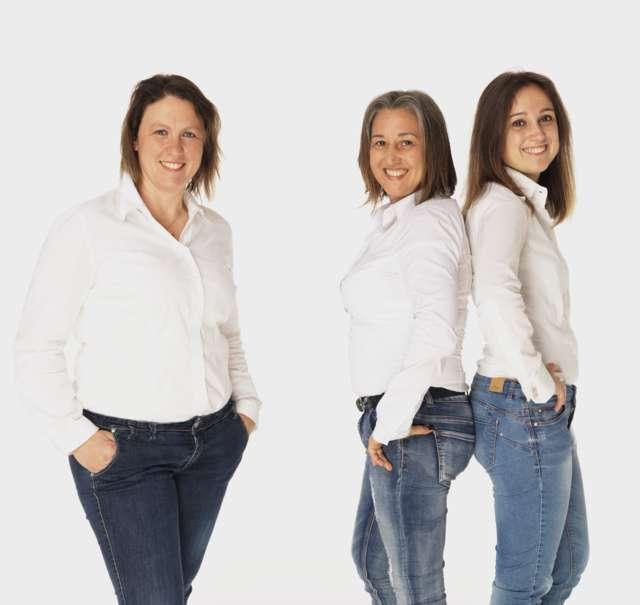 Lo staff femminile de Gli Spazzacamino di Manlio
