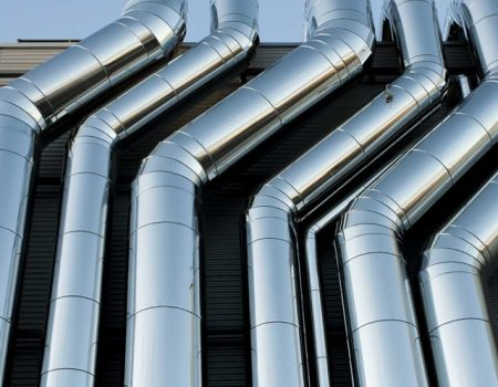 Impianto canne fumarie centralizzato