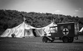 Un ospedale da campo della prima guerra mondiale